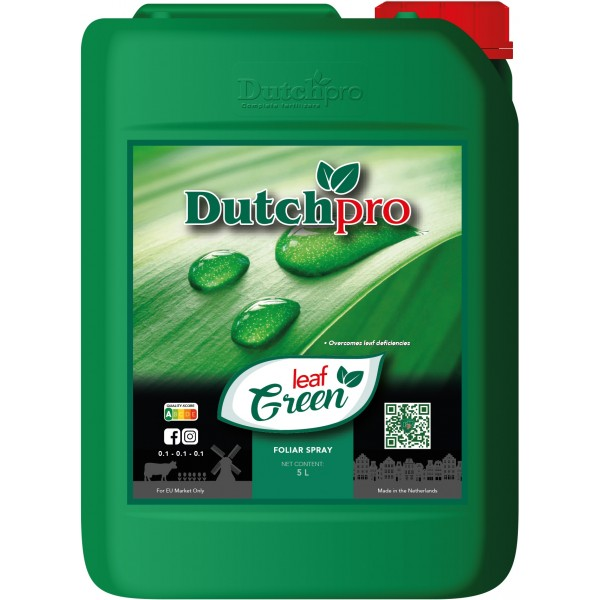 Dutchpro Leaf Green 5 liter