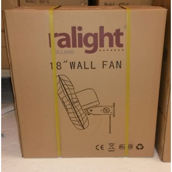 Ralight 45T-W Wandventilator 45cm doorsnee