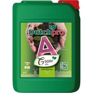 Dutchpro Soil/Aarde Grow A+B 5 liter