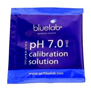 Bluelab pH 7 ijkvloeistof zakje 20ml