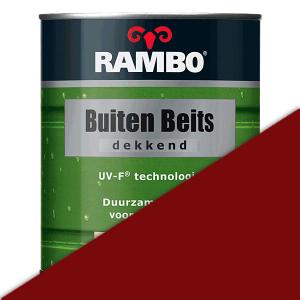 Rambo Buitenbeits dekkend 0,75 liter - Steenrood (1105)