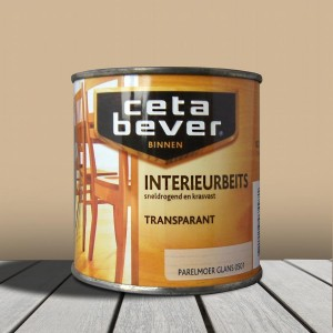 Cetabever Interieurbeits Transparant Parelmoer Glans (0501)