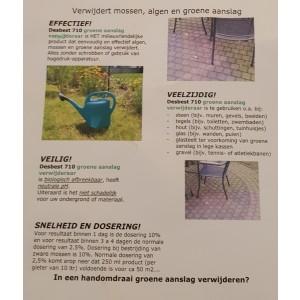 Groene aanslag verwijderaar Desbest 710 1KG