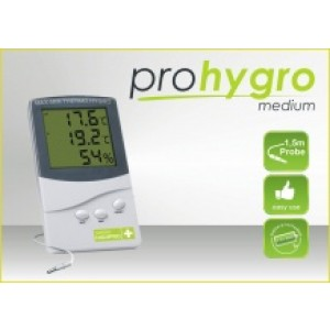 Thermo / Hygro meter Garden HighPro. Medium inclusief Sensor.