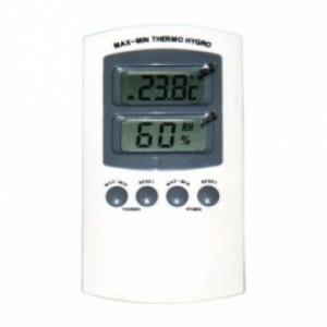 thermometer en hygrometer