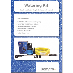 Watering Kit (pomp-waterslang-lance)