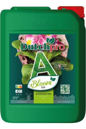 Dutchpro Soil/Aarde Bloom A+B 5 liter
